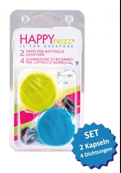 HAPPY FRIZZ Kapsel- und Dichtungsset