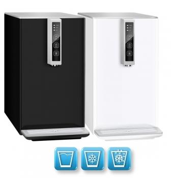 Auftisch-Tafelwasseranlage BLACK & WHITE COLD DIAMOND